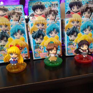Sailor Moon Blind Box Figures - Anime Mini Figures for Sale in Panama City, FL