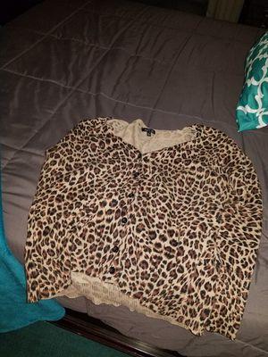 Leopard cardigan XL for Sale in Tampa, FL