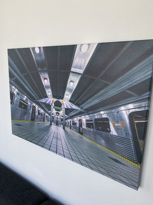 Miami Modern Wall Art // Metromover 3ft x 2ft for Sale in Miami, FL