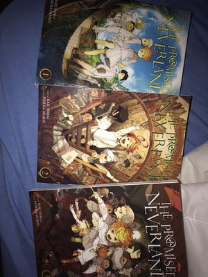 first 3 volumes of The Promised Neverland for Sale in San Antonio, TX