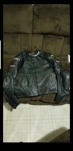 Motorcycle jacket size large teknic, shoei, star, for Sale in Los Angeles, CA