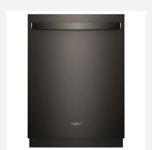 Whirlpool 47-Decibel Built-In Dishwasher (Fingerprint-Resistant Fingerprint Resistant Black Stainless) (Common: 24 Inch; Actual: 23.875-in) for Sale in Houston, TX