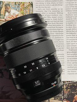 FUJIFILM XF 16-80mm f/4 R OIS WR Lens for Sale in Marietta,  GA