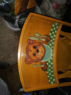 Antique high chair for Sale in Tacoma, WA