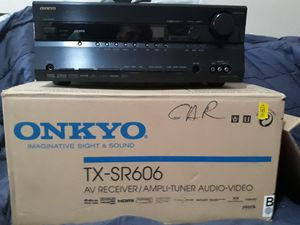 Onkyo Audio/Video tuner for Sale in San Jose, CA