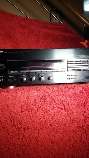 Yamaha RX-496 Natural Sound Stereo Receiver for Sale in Southwest Ranches, FL
