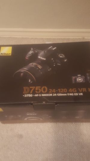 Nikon D 750 new for Sale in Fort Worth, TX