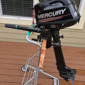 6 HP Long Shaft Outboard four stroke Motor Boat kayak for Sale in Damascus, OR