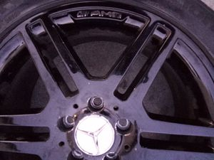 AMG MERCEDES-BENZ BLAK RIMS 17# for Sale in Los Angeles, CA