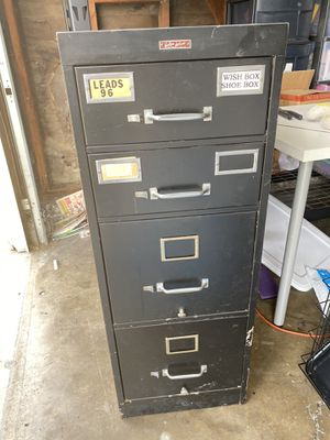 Metal file cabinet for Sale in Industry, CA