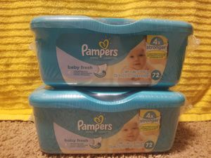 Pampers wipes for Sale in Durham, NC