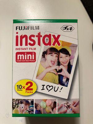 Fujifilm Instax Instant Film for Sale in Renton, WA
