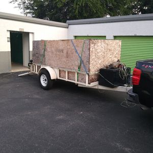 Aztec 10 x 6 drop gate trailer good condition for Sale in Fort Myers, FL