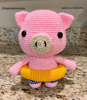 Piggy amigurumi for Sale in Covington, WA