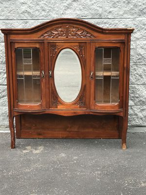 Antique China Cabinet for Sale in Burtonsville, MD