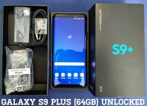 Galaxy S9 Plus (64GB) Factory-UNLOCKED (9/10) Blue for Sale in Falls Church, VA