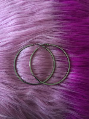 Silver hoops for Sale in Orlando, FL