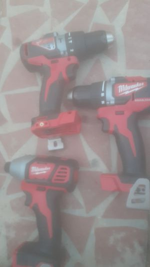 Millwauke 3pack drill hammer impact for Sale in Greenville, SC