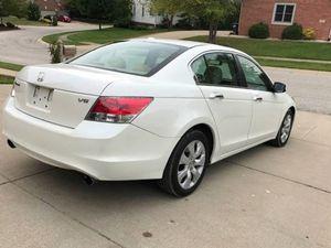 Super Clean 2008 Honda Accord EX-L FWDWheels White Car for Sale in Mesa, AZ