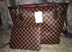 Today only two piece bag set women's tote purse for Sale in Menifee, CA