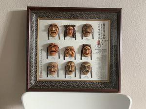 Korean masks-framed-retails for $100 for Sale in Portland, OR