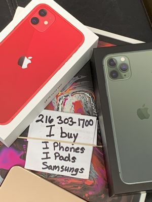 Apple iPhone max xs xr 11 pro pro max 8 8 plus for Sale in Cleveland, OH
