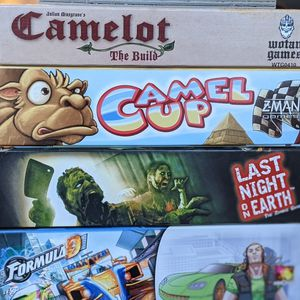 Board Games (Formula D, Euphoria, Welcome To, Last Night On Earth, And More!) for Sale in Catonsville, MD