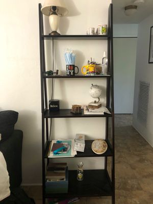 Ladder Shelf- $40 for Sale in North Miami Beach, FL