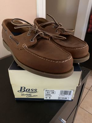 Bass Heritage Collection Boat Shoes for Sale in Simi Valley, CA
