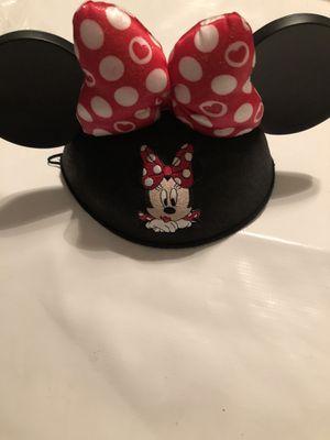 Disney Minnie Mouse Ears Hat for Sale in Apopka, FL