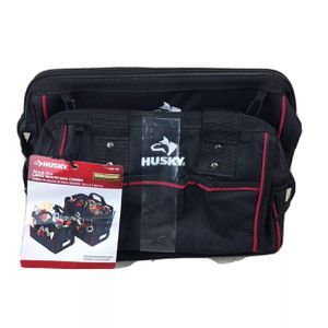 """Husky Large Mouth Tool Two Bag Combo 14"""" And 12"""" Black 665942 for Sale in Hialeah, FL"""