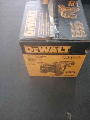 DEWALT DXPW3425 GAS PRESSURE WASHER 3400PSI ,2.5GPM for Sale in Philadelphia, PA