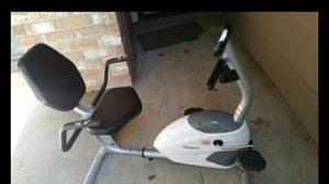 exercise recumbent bike with heart rate monitor for Sale in Houston, TX