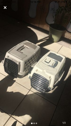 Two pet porters for small/medium dogs $25 each for Sale in Rogers, AR