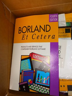 Vintage $!!!!Borland software for Sale in Dallas, TX