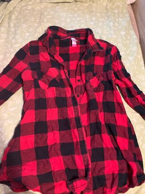 Red flannel women for Sale in Fontana, CA