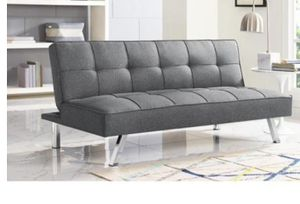 Futon gray color for Sale in Fort Worth, TX