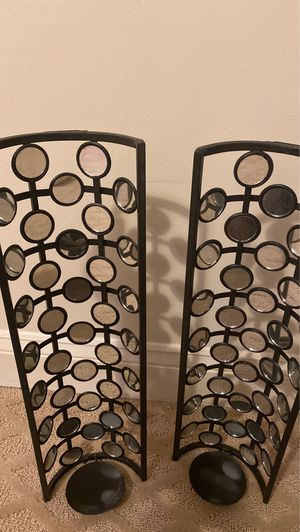 Two piece wall candle holder. Decorative. Gorgeous for Sale in Woodbridge, VA