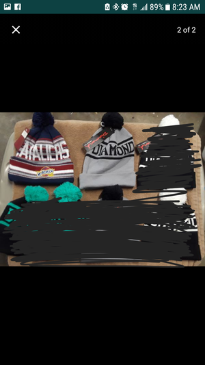 $8 each all new, New Era & Mitchell & Ness for Sale in Compton, CA