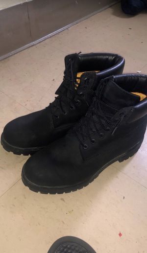 Black Timberland Boots (sz 9) for Sale in Columbus, OH