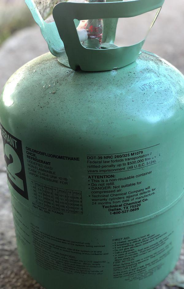 Bottle of R22