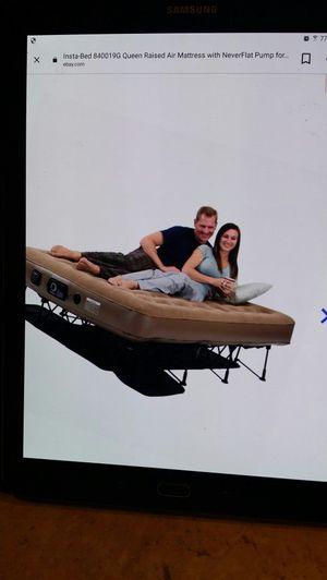 Insta-bed Ez Queen Raised Air Mattress for Sale in Avondale, AZ
