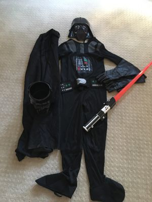 Kids Darth Vader Costume Size 8-10 for Sale in Bothell, WA