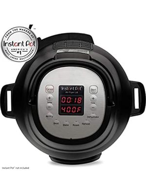 Instant Pot Air Fryer Lid 6 in 1, No Pressure Cooking Functionality, 6 Qt, 1500 W for Sale in La Grange Park, IL
