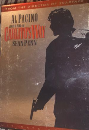 Carlo's Way Sean Penn DVD for Sale in New Haven, CT