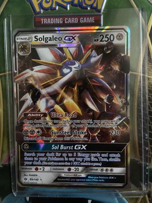 Solgaleo GX 89/149 for CHEAP for Sale in Bellingham, MA