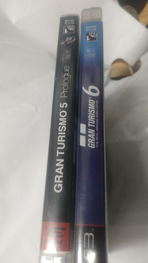 Gran Turismo five and six for ps3 for Sale in Ocean Shores, WA
