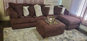 Sectional Couch w/Ottoman 3-piece for Sale in Phoenix, AZ