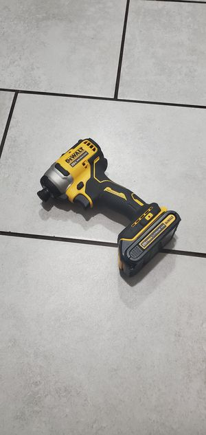 DEWALT 20.VT BRUSHLESS DRILL W BATTERIE NEW NUEVO for Sale in Long Beach, CA