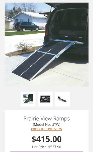 Prairie View 6ft folding wheelchair ramps for Sale in Depew, NY